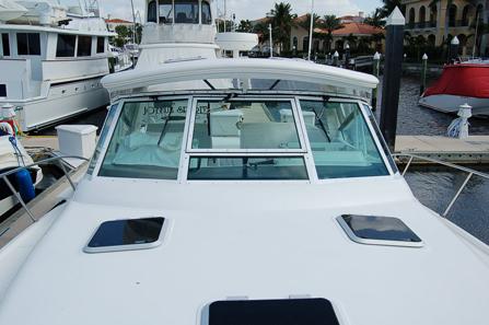 A loaded 2003 35′ Tiara Open Yacht
