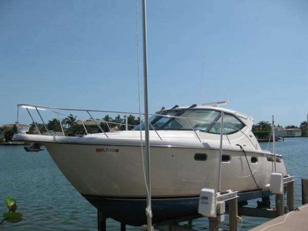 We just took this fine 2008 35 Tiara Sovran to the Fort Myers boat show and ...
